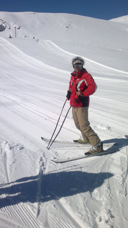 ahmadreza zeraat pisheh, Pooladkaf Ski Resort