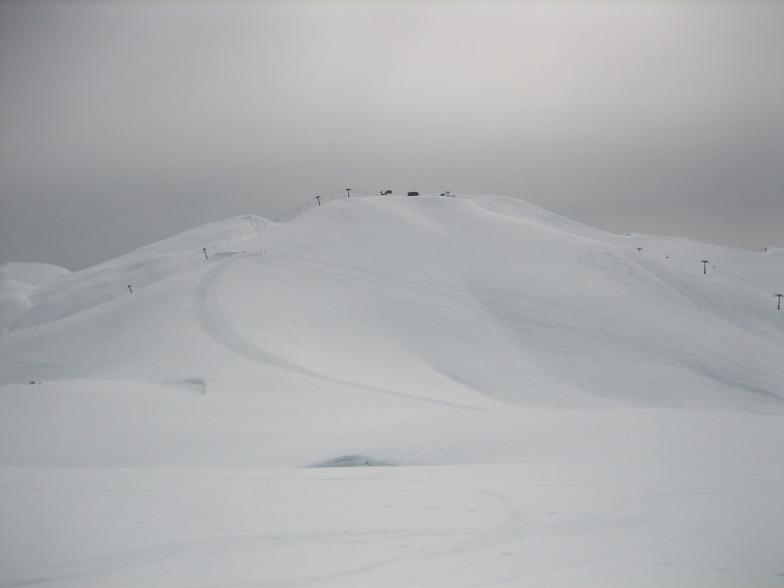 pista  mesta apo piso 2/3/2013, Falakro Ski Resort
