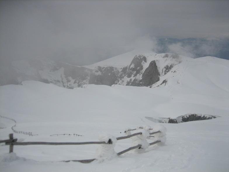pera apo to fraxti tis xionotripas, Falakro Ski Resort