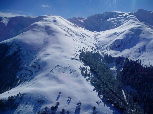 La-Pinilla snow