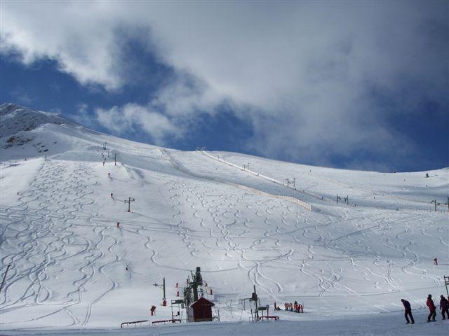 nieve virgwn en al gran plato, La-Pinilla