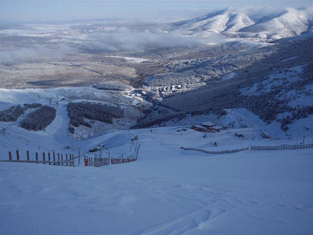 vista paronamica de la pinilla desde la zona alta, La-Pinilla