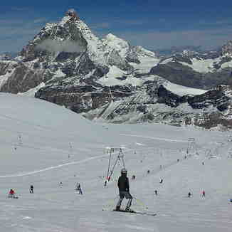 summer ski, Zermatt