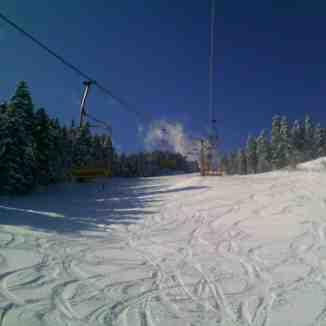 nov sneg, Kopanki - Pelister