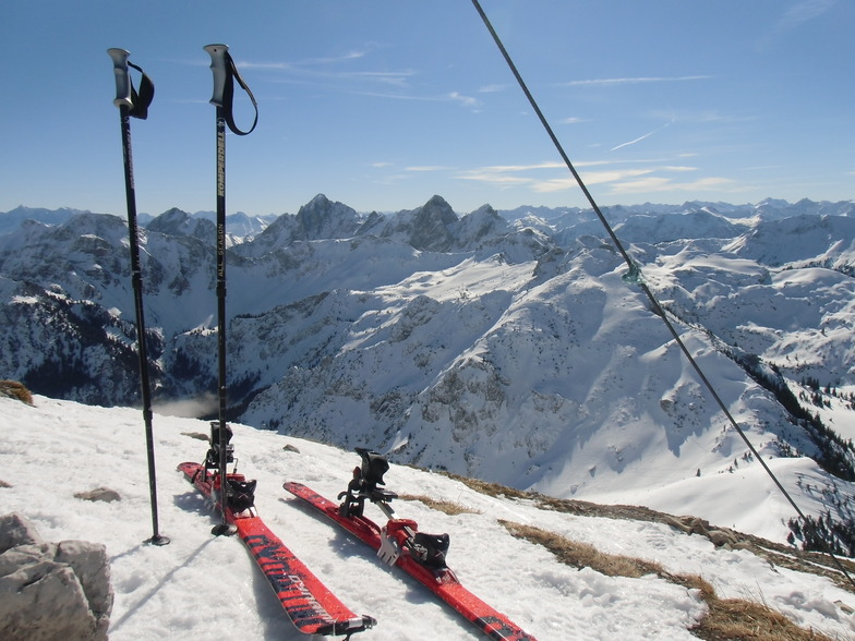 At the Top of the Brentenjoch, Pfronten/Breitenberg