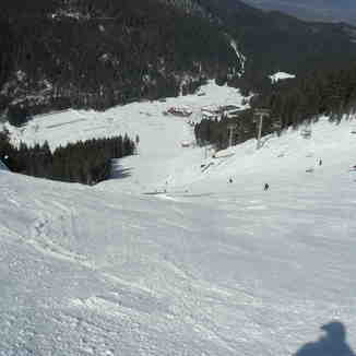 black run, Bansko