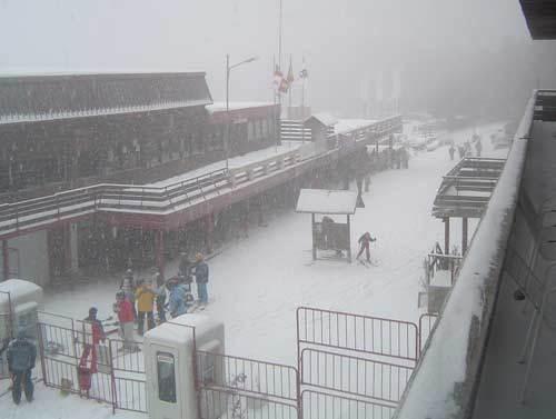 intensa nevada en la pinilla, La-Pinilla