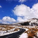 The Road to Mahon Falls, Ireland