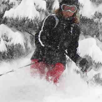 Snow in Villars