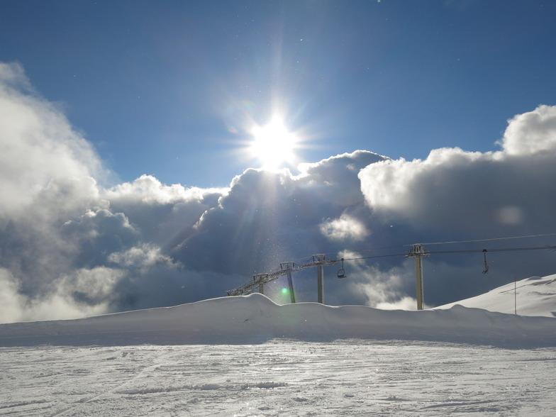 Villars snow