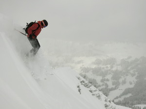 Down from Chaux, Villars photo