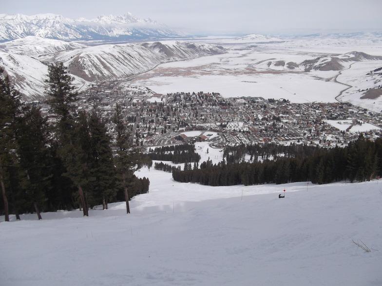 Snow King Mountain, Jackson snow