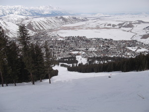 The Town of Jackson Hole, Snow King Mountain, Jackson photo