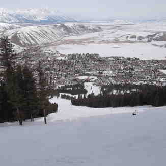 The Town of Jackson Hole, Snow King Mountain, Jackson