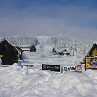 Cervenohorske Sedlo, Jeseniky Mountains, Czech Republic - Jan 2005, Červenohorské Sedlo