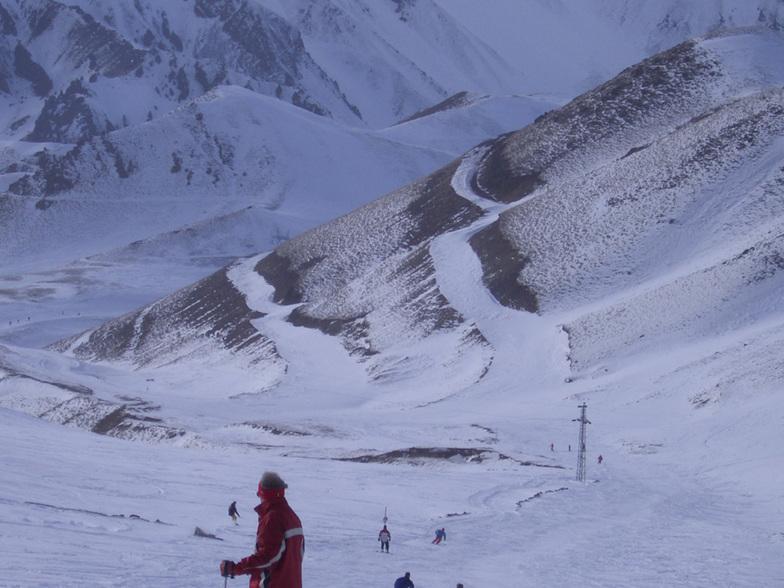 halver wegen de berg / at the middel of the mounten, Mt Palandöken