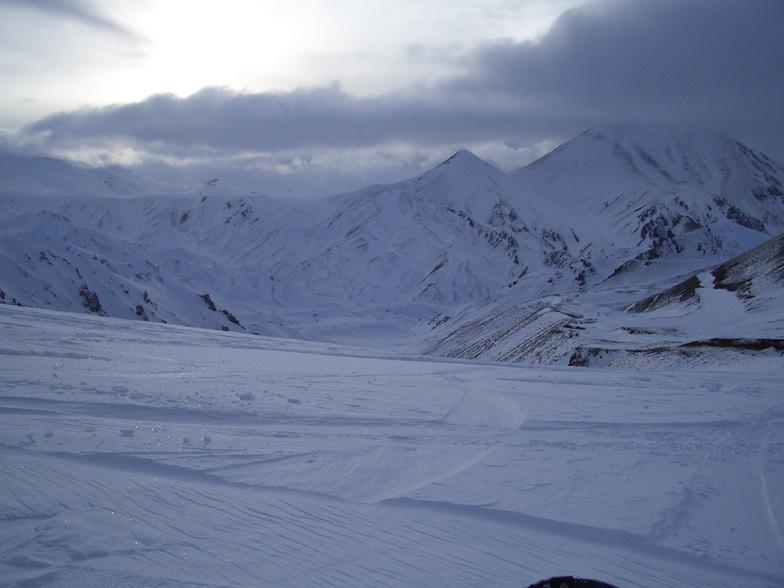 Foto van de top / photo from the top, Mt Palandöken