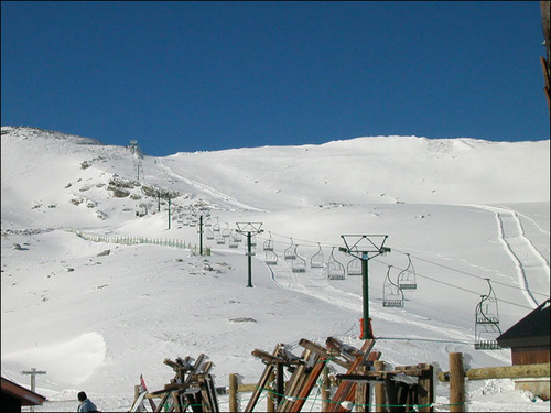 Alto Campoo Ski Resort by: francisco