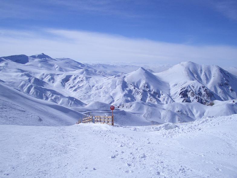 Het mooie uitzicht van de berg / The beautiful view from the mounten, Mt Palandöken