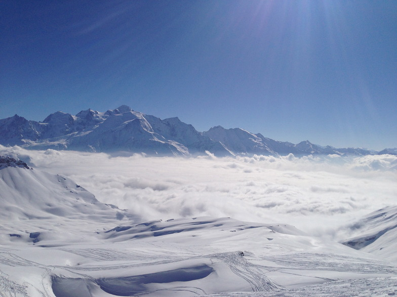 Mount Blanc from Flaine