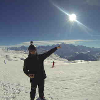 This is Mont Blanc, Flaine