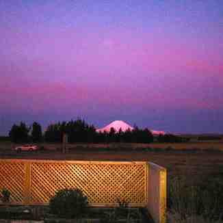 Mt. Ngauruhoe Sunset, Whakapapa