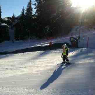 Club Piou Piou Lessons at La Tania
