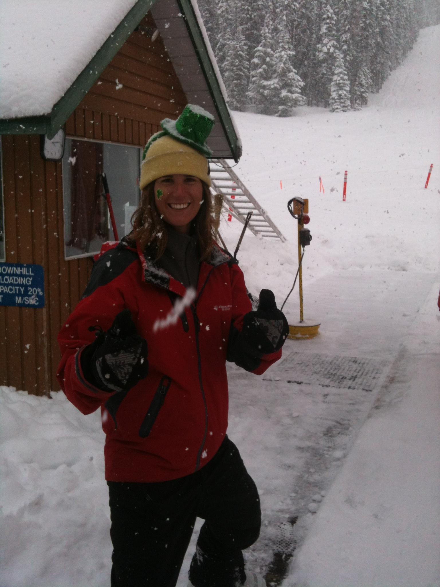 Snow Fairy Lift Op, Manning Park Resort
