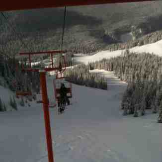 second chair, Manning Park Resort