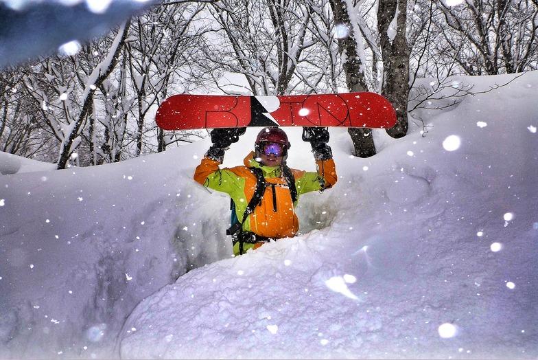 Seki Onsen snow