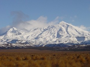 Mt Ruapehu Clearing after Southerly, Turoa photo