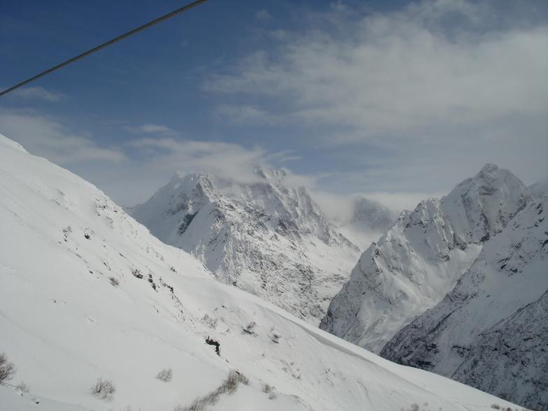 Dombai snow