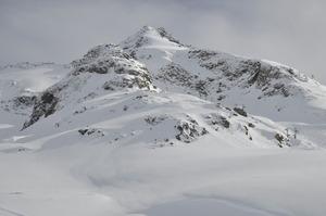 Výhled ze sjezdovky, Bonneval sur Arc photo