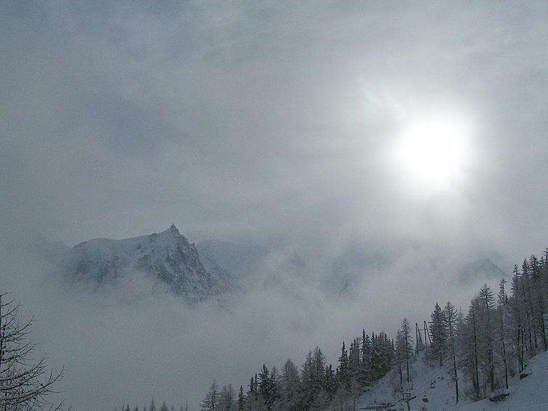 The Aiguille du Midi, Chamonix