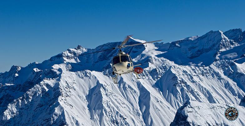 The lift !, Puma Lodge - Chilean Heliski
