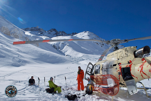 Puma Lodge - Chilean Heliski Ski Resort by: JuanPablo Berrios