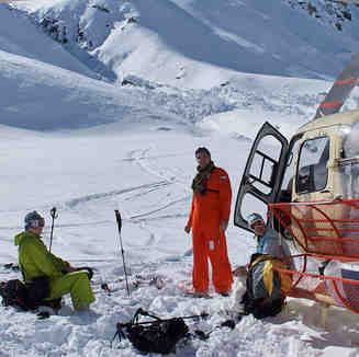 Just a minute..., Puma Lodge - Chilean Heliski