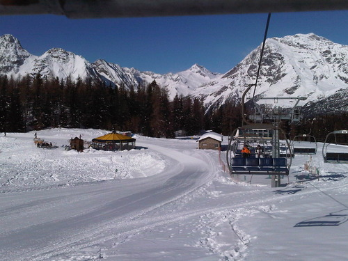 Chiesa Ski Resort by: Phil Hawkins - Bella Ski Italia