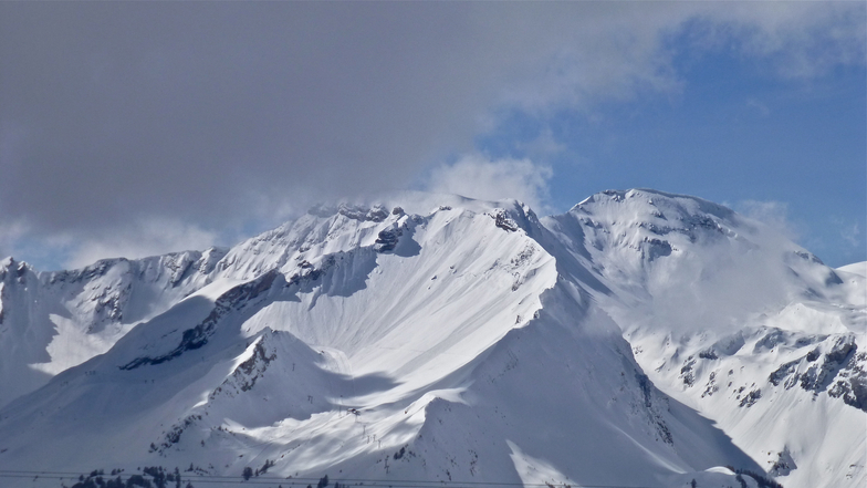 Crans Montana Mountains