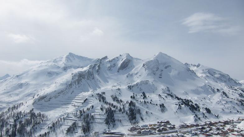 Fresh snow in March 2013, Obertauern
