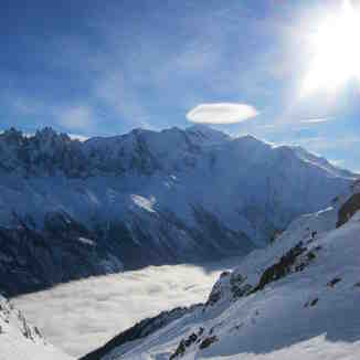 Flegere - cloud inversion, Chamonix