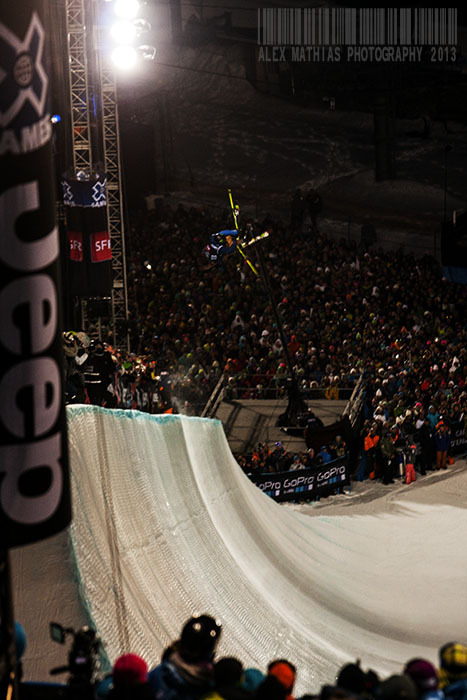 X Games Super Pipe Final, Tignes