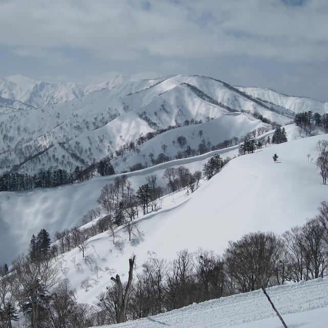 Powder in March, Okutadami Maruyama