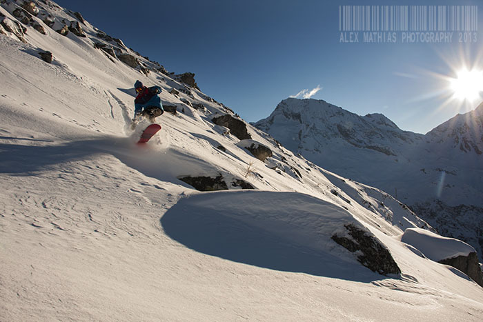Shaun last run, Sainte Foy