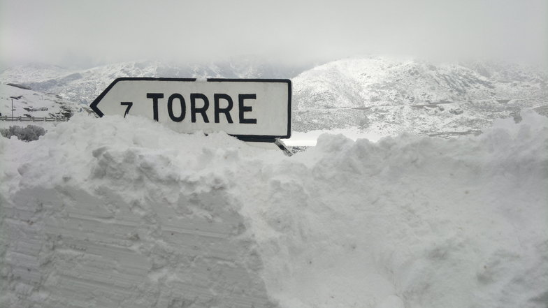Torre a 7km e com muita neve, Serra da Estrela
