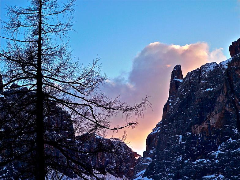 SUNSET IN THE MOUNTAINS, Badia (Alta Badia)