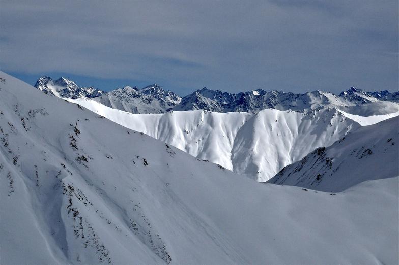 Samnaun snow