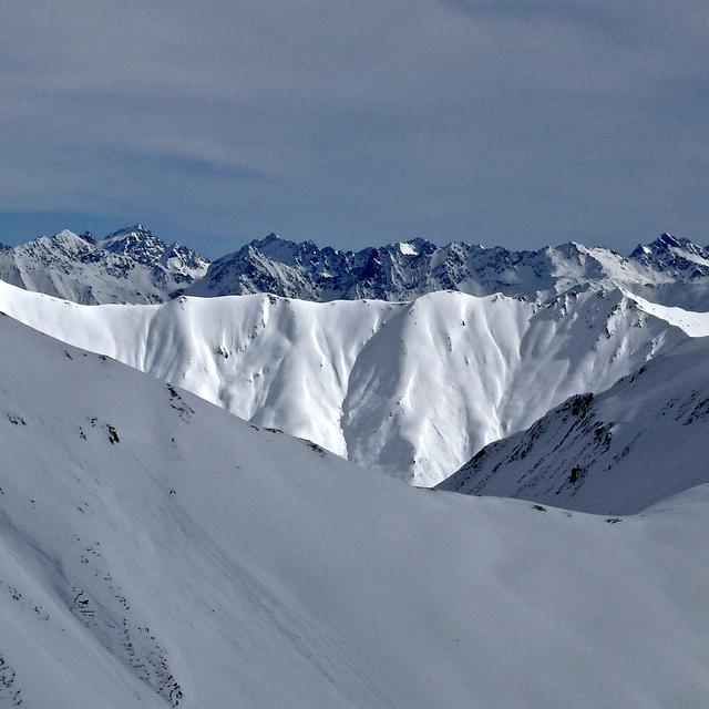 SAMNAUN MOUNTAINS