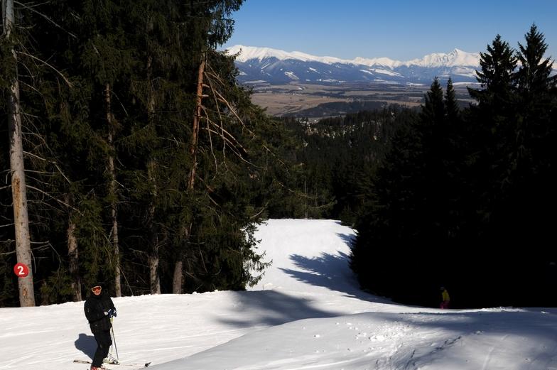 Opalisko - Závažná Poruba snow