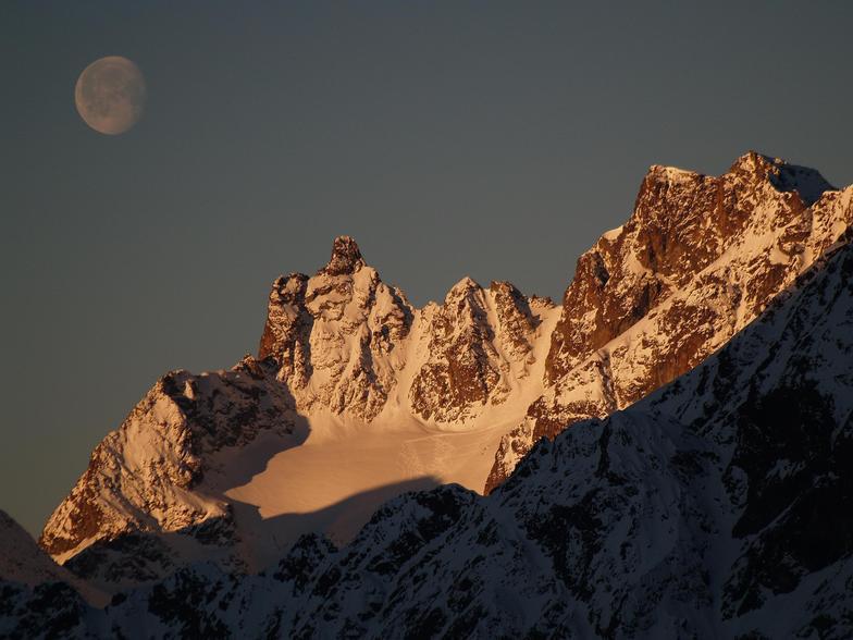 Cervinia- Sunrise, Breuil-Cervinia Valtournenche